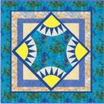 Sunnyskies quilt pattern1