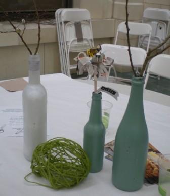 Bottles yarn ball