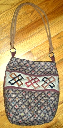 New purse taupe