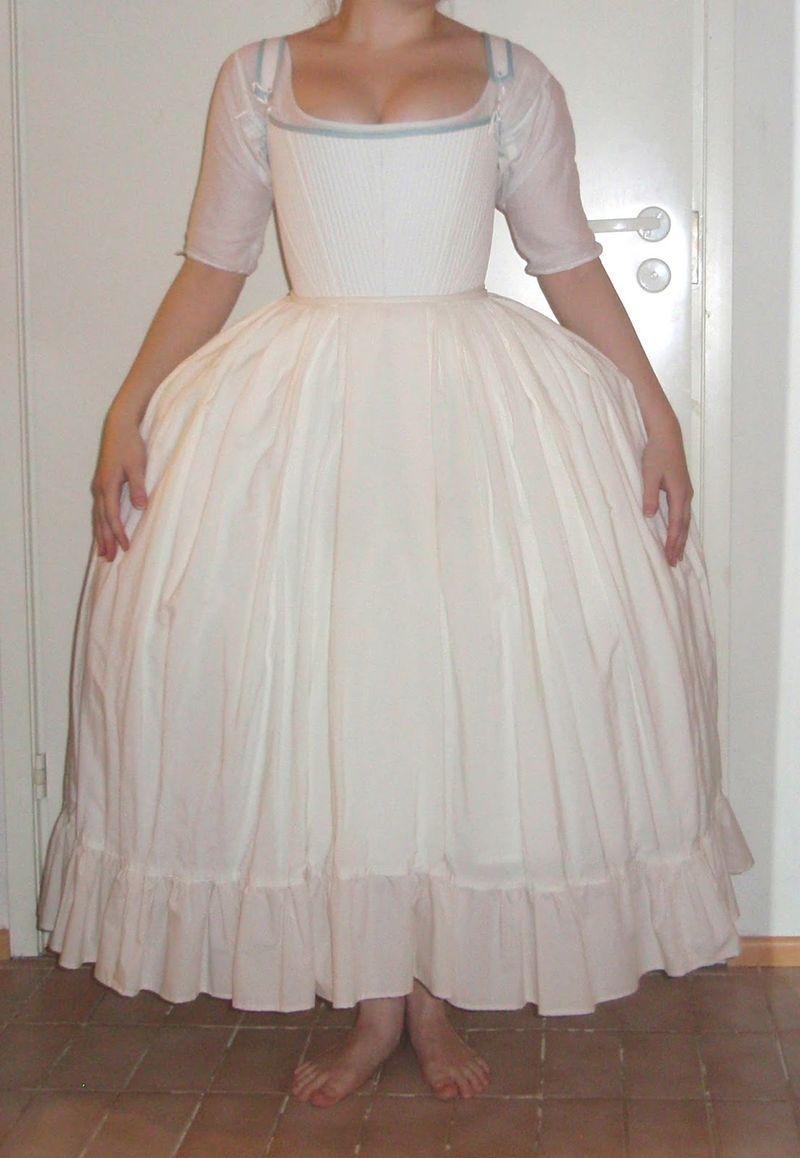 Petticoats 1770s